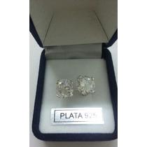 Aros De Plata 925 Cubic Blanco
