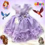 Vestido Infantil Tema Princesinha Sofia - Gilerá Fashion
