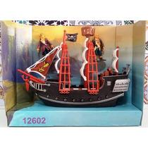 Navio Barco Brinquedo Piratas