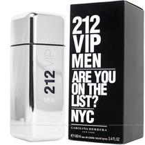 Perfume Carolina Herrera 212 Vip Men 200ml Para Hombre
