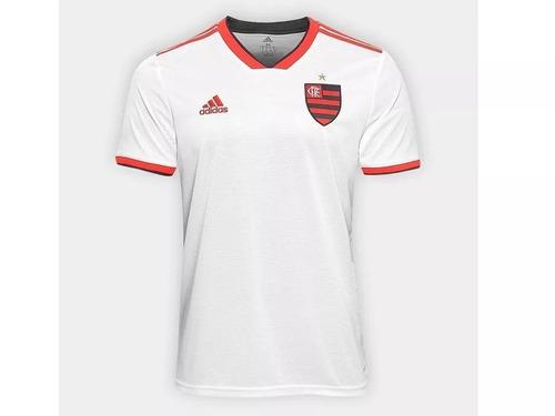 d710ca3a58 Camisa Flamengo Ii 2018 Branca adidas Nova Frete Grátis 2019 - R  120