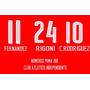 Numeros Independiente 2016/17 - Estampado En El Acto - Mp