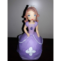 Adorno Para Torta Porcelana Fria Princesita Sofia De Disney