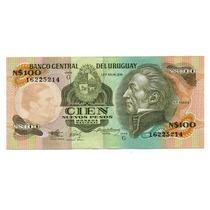 Uruguay Billete 100 Nuevos Pesos 1987 Serie G P#62a Argentvs