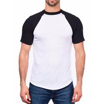 Camisetas Raglan 100% Poliéster Sublimação Estampar Atacado