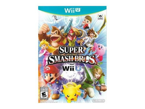Super Smash Bros For Wii U Juego Nintendo Wii U Gtia Vdgmrs 965