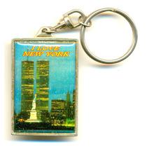 Chaveiro Antigo Do World Trade Center - Complete Sua Coleção