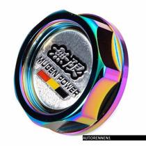 Tapon De Aceite Jdm Honda Acura Nissan Mugen Color Tornasol