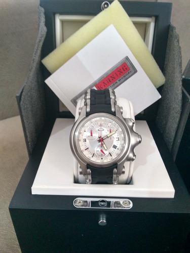 f700e9b7672 relógio oakley holeshot bracelete silver. Carregando zoom.