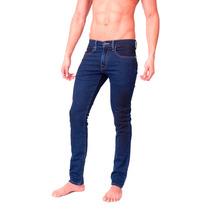 Pantalon Hombre Caballero Mezclilla Slim Jogger Dark Grypho