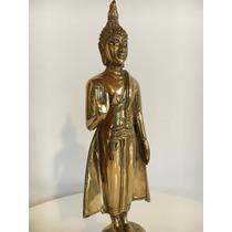 Buda De Bronce Antiguo 100 Años - Origen Tailandia - Unico