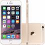 Apple Iphone 6 16gb 4g Dourado Original Seminovo + Brinde
