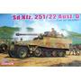 En Stock 1/35 Tanque Panzer Aleman Sd.kfz 251/22 (dragon)