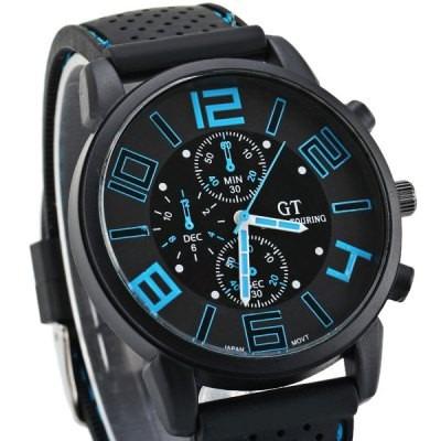 d70c2c90a40 Relógio Masculino Esportivo Analogico Pulseira De Silicone - R  30 ...