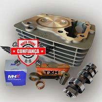 Kit Motor Titan/fan150 P/ 230cc C/comando Preparado 330°
