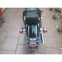 Respaldo Con Portaplaca Lateral Y Parrilla Harley Sportster