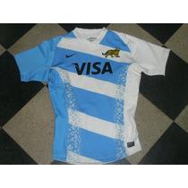 Camiseta Rugby De Los Pumas 2013 Authetic Match Talle L