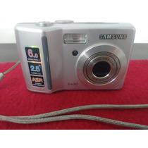 Camera Fotografica Digital Sansung S630 6mp Funcionando