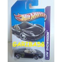 Hot Wheels Ferrari 458 Spider 2013 Showroom Series Gariba58