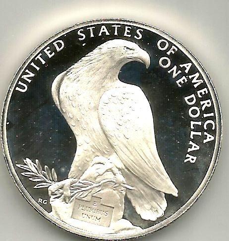 Moneda De 1 Dolar Olimpiadas Los Angeles 1984 Espejo 550 00 En Mercado Libre