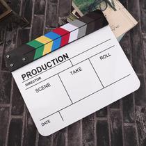 Claquete Para Filmagem Acrílica