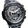 Reloj Casio Edifice Ef-558bk Red Bull Vettel Cronometro