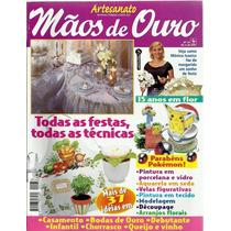 509 Rvt- 2000 Revista Mãos De Ouro- Mai 37- Todas As Festas