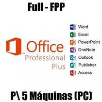 Office 2016 Pro Licença Original P\5 Máquinas C\garantia