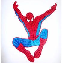 Parche Termoadhesivo Bordar Moda Apliques Superman Spiderman
