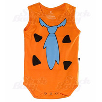 Body Fred Flintstone Regata Bebê Fabicante Super Oferta
