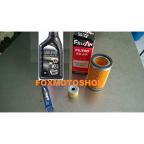 Kit Revisão Dafra Apache 150 Oleo/filtros/vela(4 Itens)