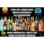 Licores Whisky Ginebra Vino Tequila Vodka Coñac Ron Añejo