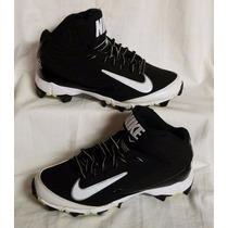 Tenis Tachones Spikes Béisbol Americano Nike Niño Talla 18