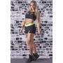 Short Con Frunce Maria Gueixa (moda Fitness Premium)