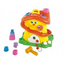 Casa Encastre Didactica Calesita / Open-toys Avellaneda 31