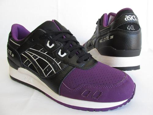 Tênis Asics Gel Lyte Iii 3 Preto Pack Sneaker Original - R  339 d9115f702de90