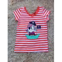 Blusa Infantil Listrada Hering - Tam. 04