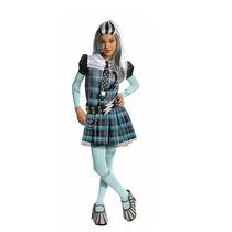 Disfraz Frankie Stein Monster High Con Peluca Original 12-14