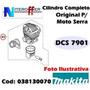Kit Cilindro Completo Original Moto Serra Dcs 7901 Makita