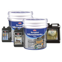 Recuplast Microcemento Sinteplast (kit Completo 25m2)