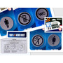 Combo 5 Señales Aviso Acero Puerta No Fumar Celular Wc Baño