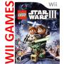 Lego Star Wars 3 - Original Nuevo Sellado - En Castellano