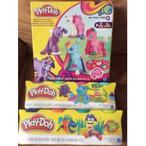 Plastilina Play Doh De My Little Pony + 8 Masas En Botesito