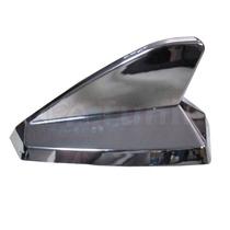 Antena Cromada Shark Tubarao Decorativa Universal