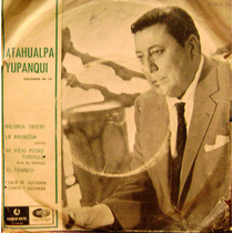 Atahualpa Yupanqui Vinilo Ep Doble Muy Raro Coleccion