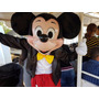Fantasia Completa Mascote Mickey Em Fibra