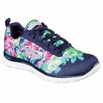 Zapatos Skechers Para Damas Flex Appeal 12448 - Nvmt