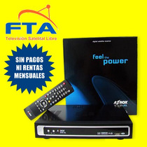 Receptor Tv Satelital Libre Fta Sin Pagos Ni Rentas