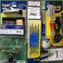 Kit Ferramentas P/ Eletrônica Solda Lupa Pinça 14 Peças 127v