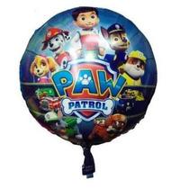 1un Balão Metalizado Patrulha Canina 45cm - Mega Desconto